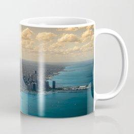 Panorama of Chicago Skyline Coffee Mug