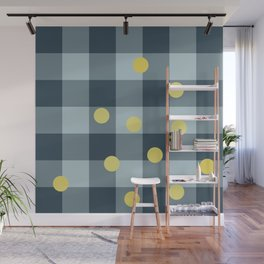 blue jeans & mimosa || pattern Wall Mural