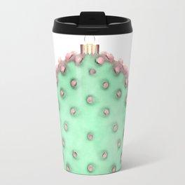 Cactus Christmas Ball Travel Mug
