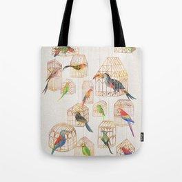 Architectural Aviary Tote Bag