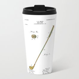 Golf Club Patent - Circa 1903 Travel Mug
