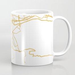 MARSEILLE FRANCE CITY STREET MAP ART Coffee Mug