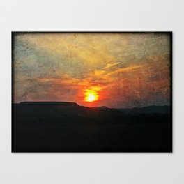 Goodnight, Sun Canvas Print