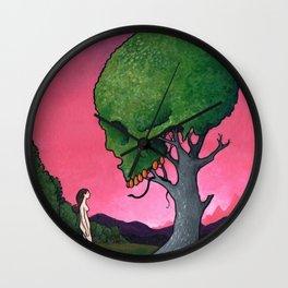 Low-Hanging Fruit Wall Clock
