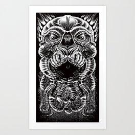 The Cultist Art Print