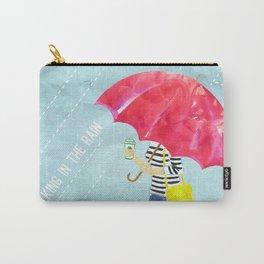 Walking in the rain | By: Priscilla Li Carry-All Pouch