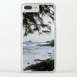 Maui through the Trees Clear iPhone Case