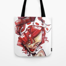 Ri-xaggeration  Tote Bag