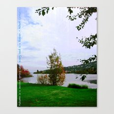 Every Leaf is a Flower - simple Canvas Print