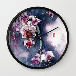 20130330 Orchid Fenny Jakarta Wall Clock