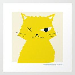 #30daysofcats 04/30 Art Print