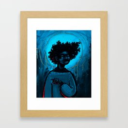 Cease to be. Framed Art Print