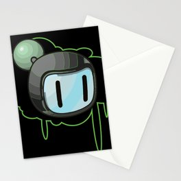 The Green Bomber  Stationery Cards