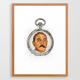 The Timeless Pocket Watch Framed Art Print