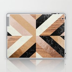 Copper Marble Wood Laptop & iPad Skin