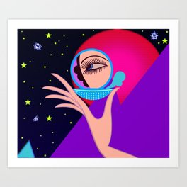 Cosmic Vanities Art Print