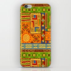 African Block Pattern iPhone & iPod Skin