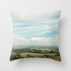 I Can See For Miles Throw Pillow