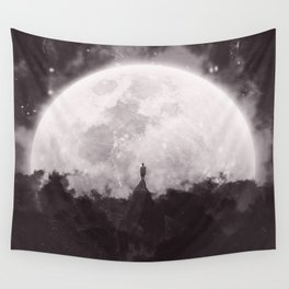The Moon and I Wall Tapestry