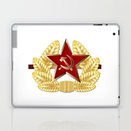 Soviet Cap Badge Laptop & iPad Skin