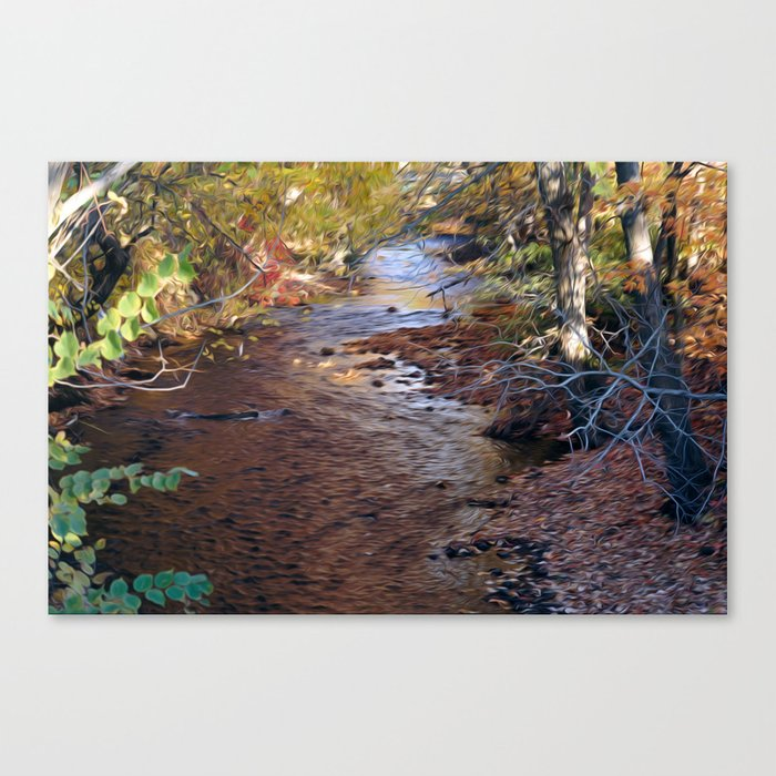 Mill River Canvas Print