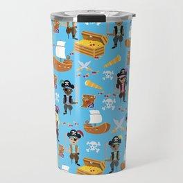 Ahoy Matey! Kids Pirate Treasure Hunt Travel Mug
