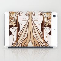 mucha iPad Cases featuring My Mucha by Little Bunny Sunshine
