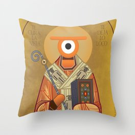 san ojo Throw Pillow