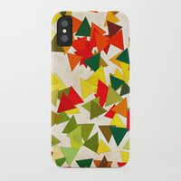 the lights iPhone & iPod Cases featuring Lights by SensualPatterns