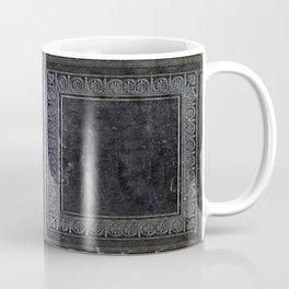 Black Antique Book Coffee Mug