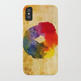 Colors Series 1 : Circle of Life iPhone Case