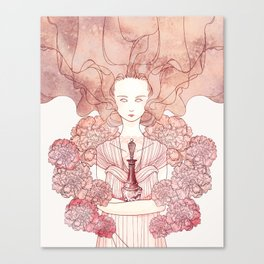 The Coral Witch Canvas Print