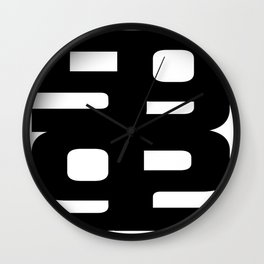 FiftyNine92 Store Logo Wall Clock