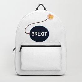 Brexit Black Bomb Backpack