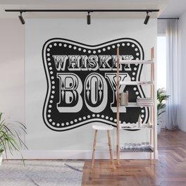 Whiskey Boy Wall Mural