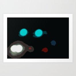 Sidestreet Art Print