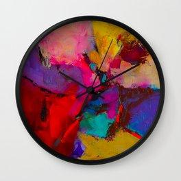 Shades of Colors Wall Clock