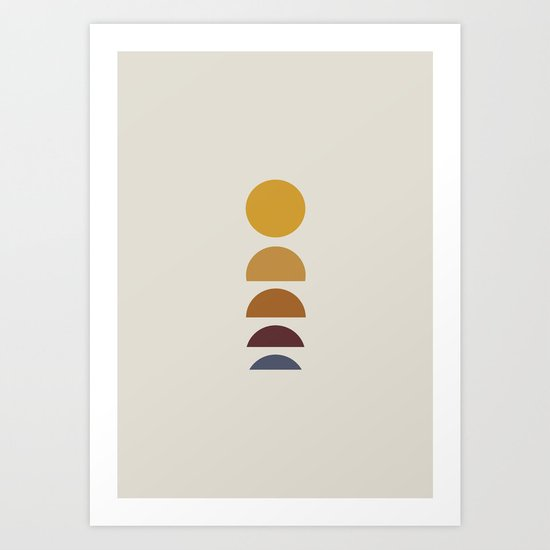 Minimal Sunrise / Sunset by midcenturymodern