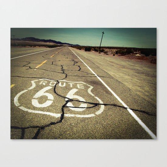 Route 66 #1 Canvas Print
