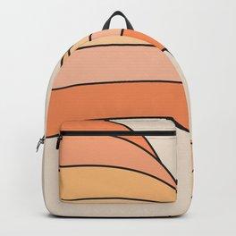 Tangerine Ribbon Backpack