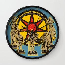 FAITH OF SEVEN Wall Clock