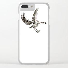 Canada Goose - Work Sock Landing Clear iPhone Case
