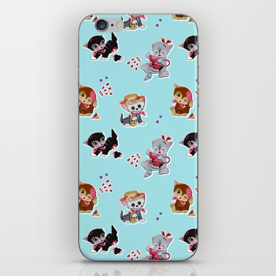 Zombie Cats iPhone Skin