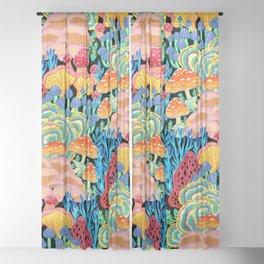 Fungi World (Mushroom world) - BKBG Sheer Curtain