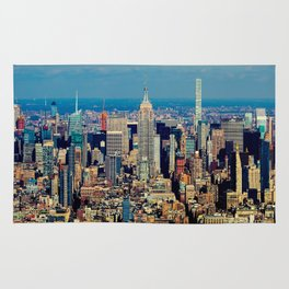 NYC Cityscape (Color) Rug