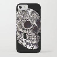 ornate iPhone & iPod Cases featuring Ornate Skull by BIOWORKZ