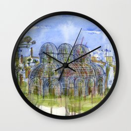 Botanical Garden Curitiba jardim botanico Wall Clock