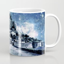 Enchanted Kingdom Steel Blue Gray Coffee Mug