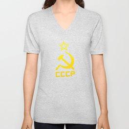 CCCP Unisex V-Neck