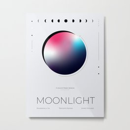 Moonlight Movie Poster Metal Print